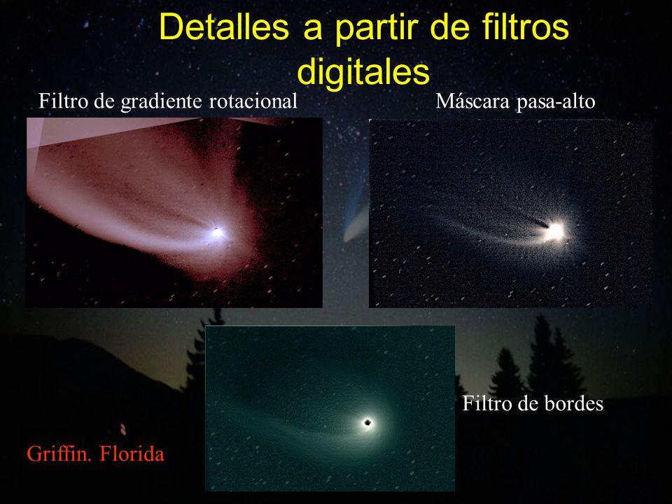 Detalles a partir de filtros digitales