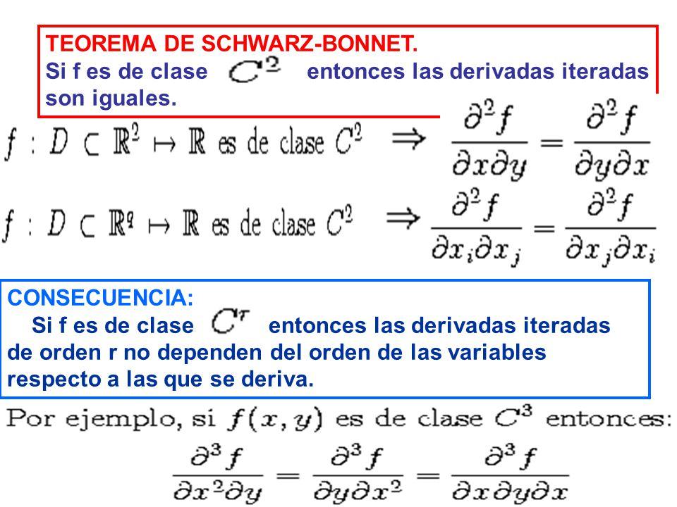 TEOREMA DE SCHWARZ-BONNET.