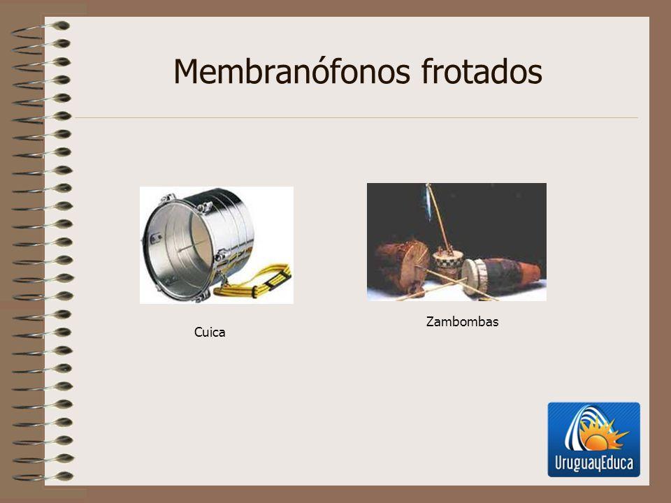 Membranófonos frotados