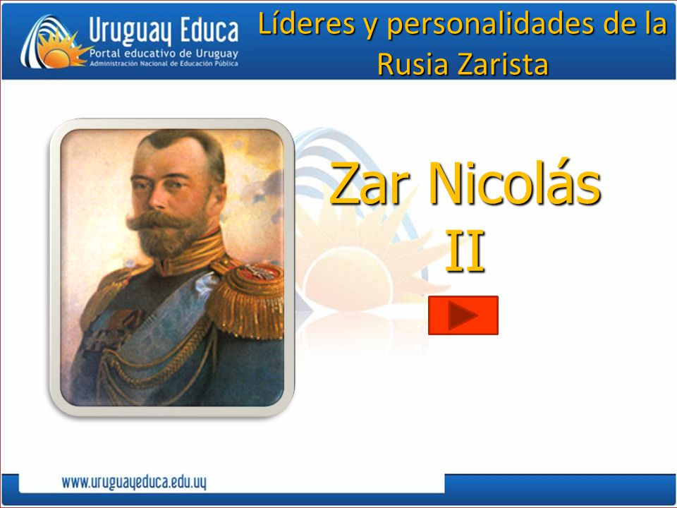 Líderes y personalidades de la Rusia Zarista