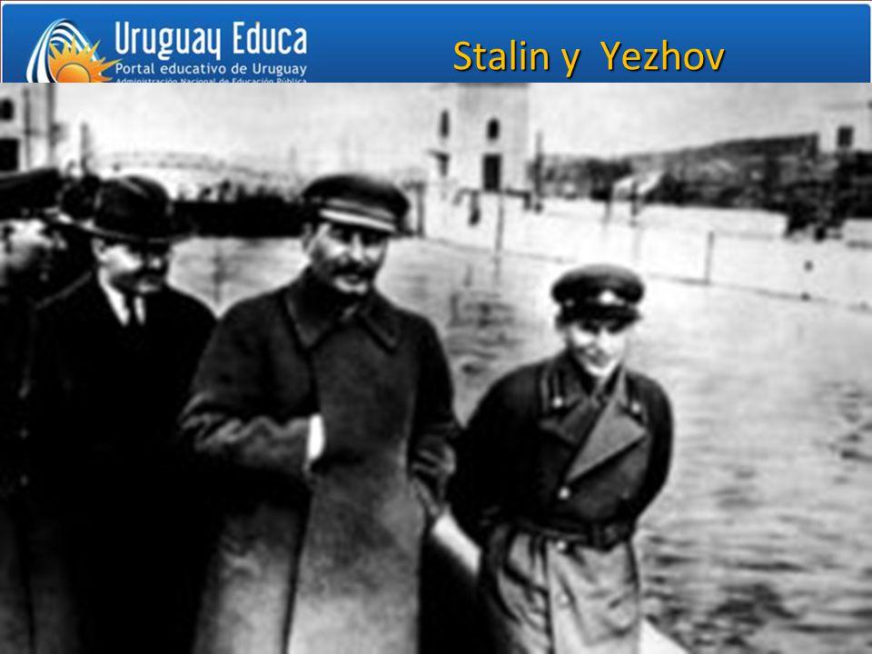 Stalin y Yezhov