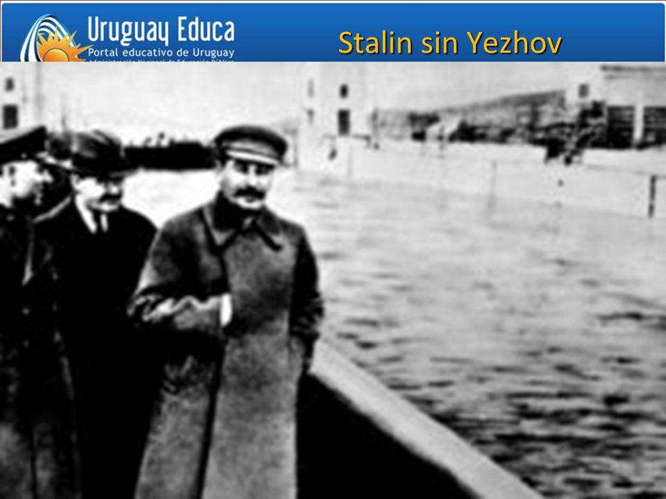 Stalin sin Yezhov