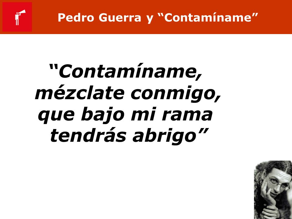 Pedro Guerra y Contamíname