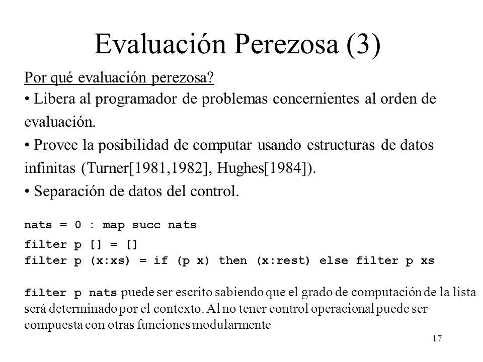 Evaluación Perezosa (3)
