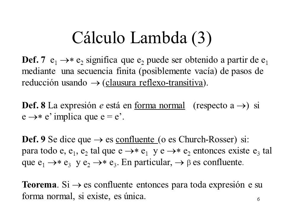 Cálculo Lambda (3)