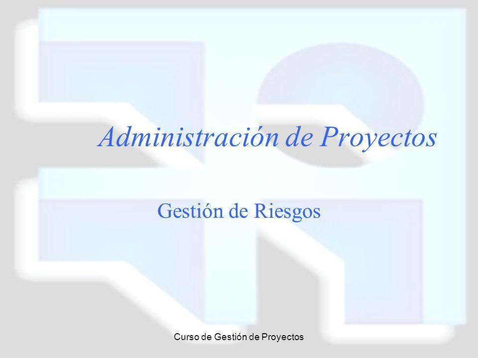 Administración de Proyectos