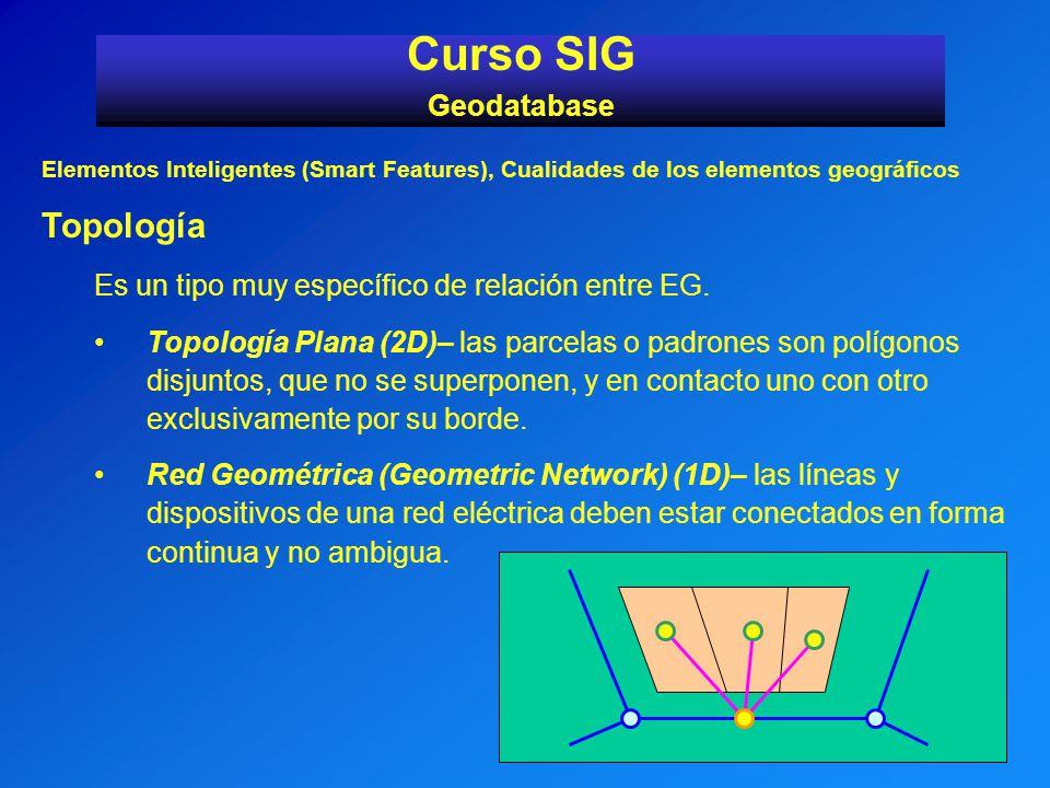 Curso SIG Topología Geodatabase