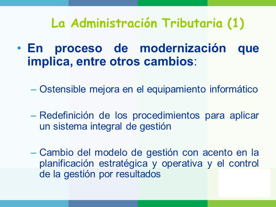 La Administración Tributaria (1)
