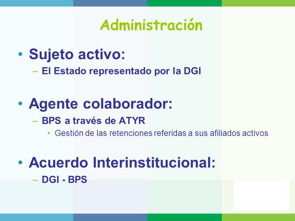Acuerdo Interinstitucional: