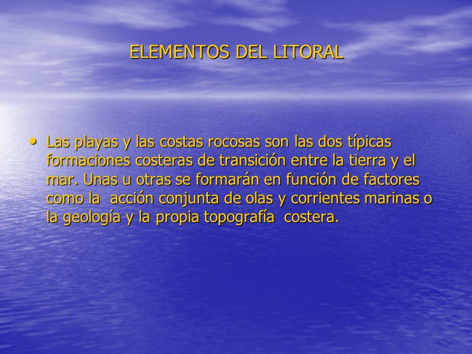 ELEMENTOS DEL LITORAL