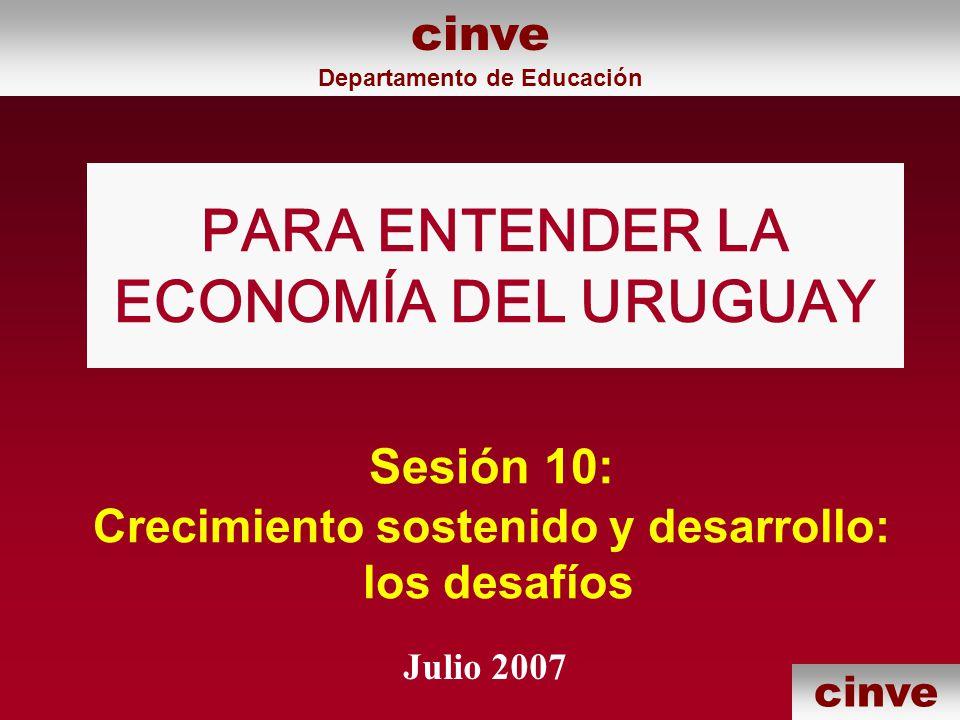 PARA ENTENDER LA ECONOMÍA DEL URUGUAY