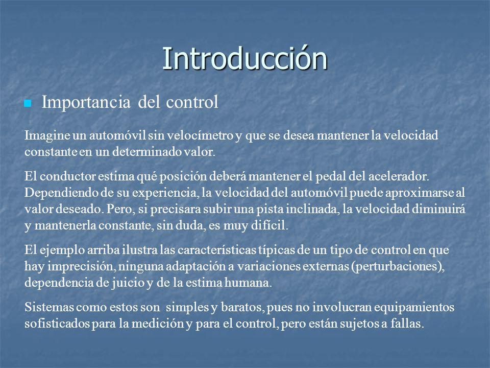 Introducción Importancia del control