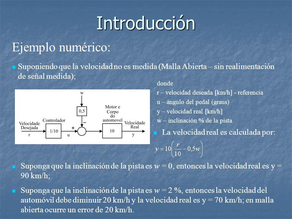 Introducción Ejemplo numérico: