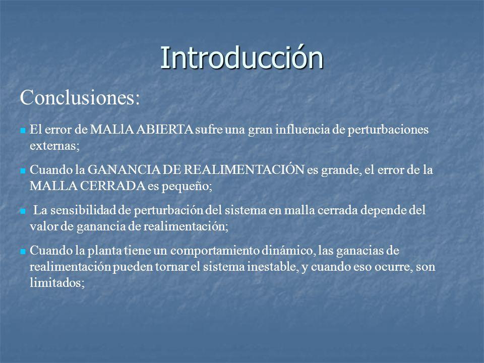 Introducción Conclusiones: