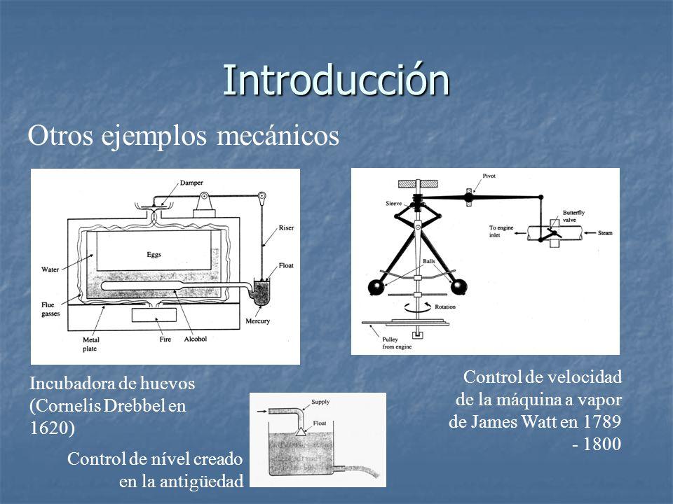 Introducción Otros ejemplos mecánicos