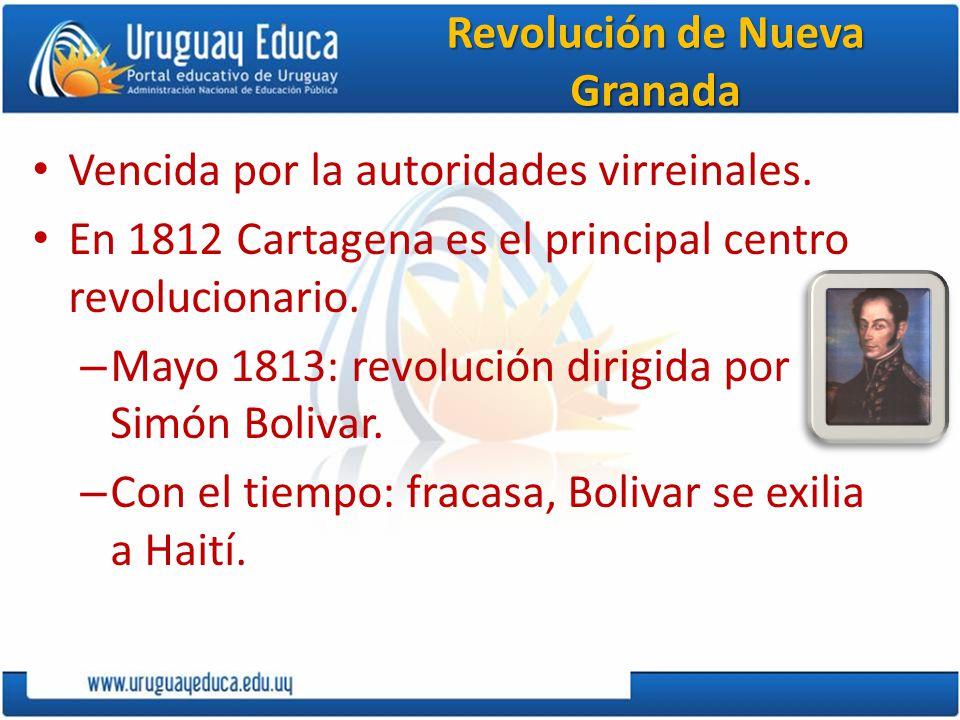 Revolución de Nueva Granada