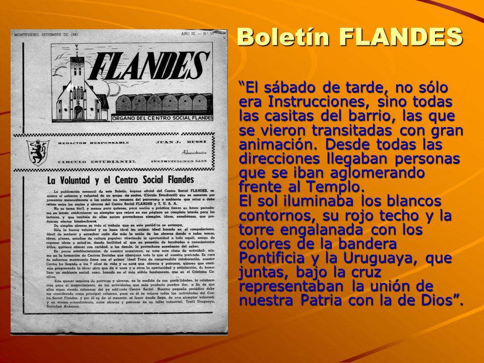 Boletín FLANDES
