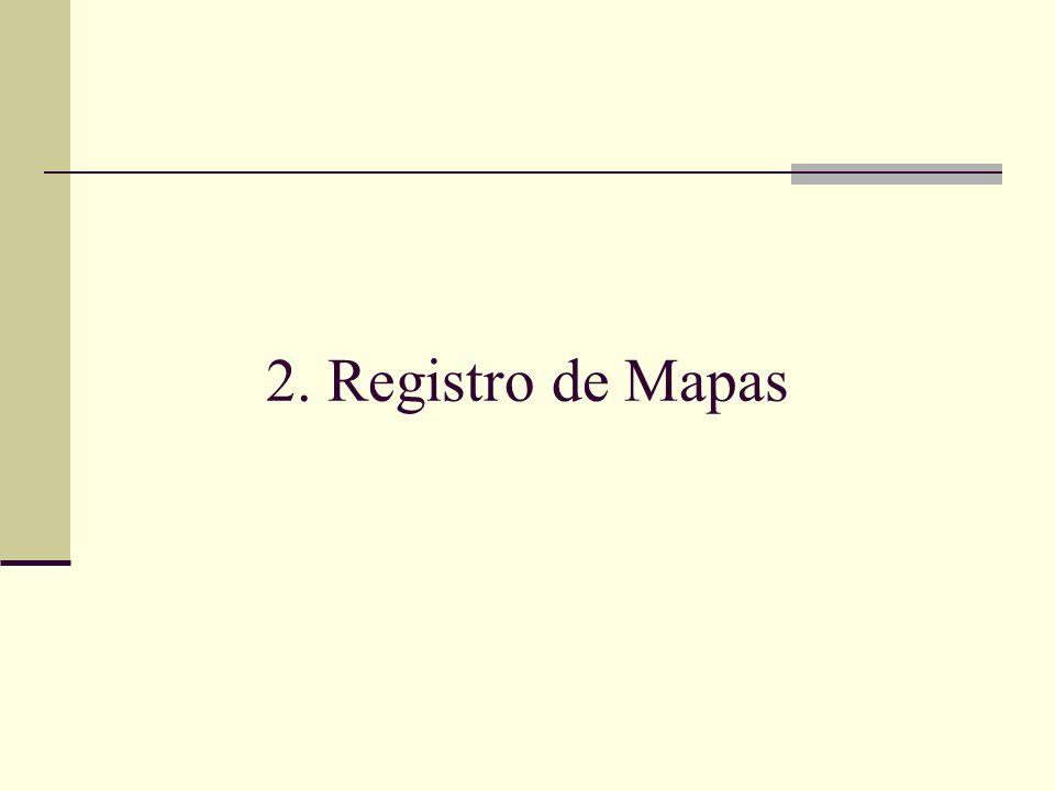 2. Registro de Mapas