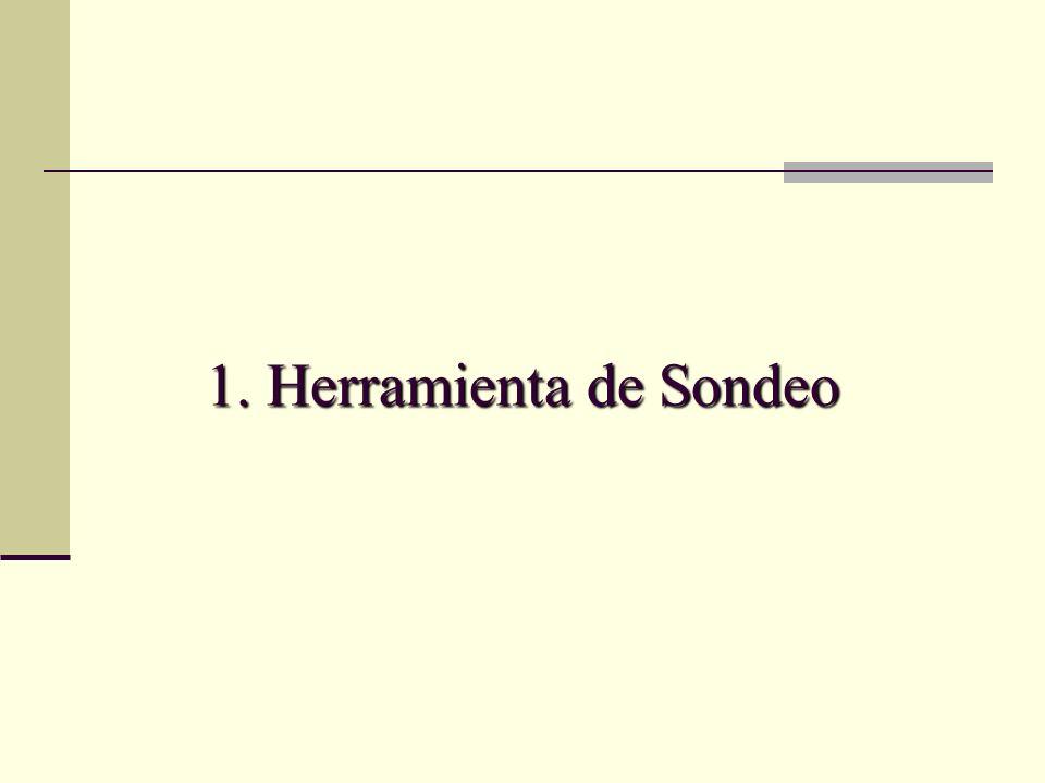 1. Herramienta de Sondeo