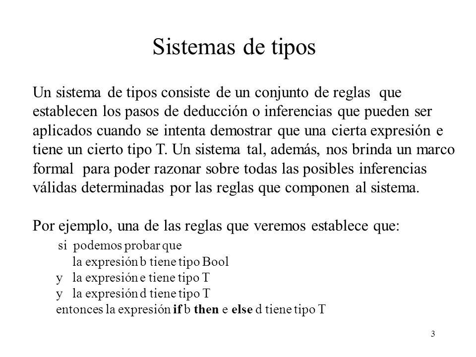 Sistemas de tipos