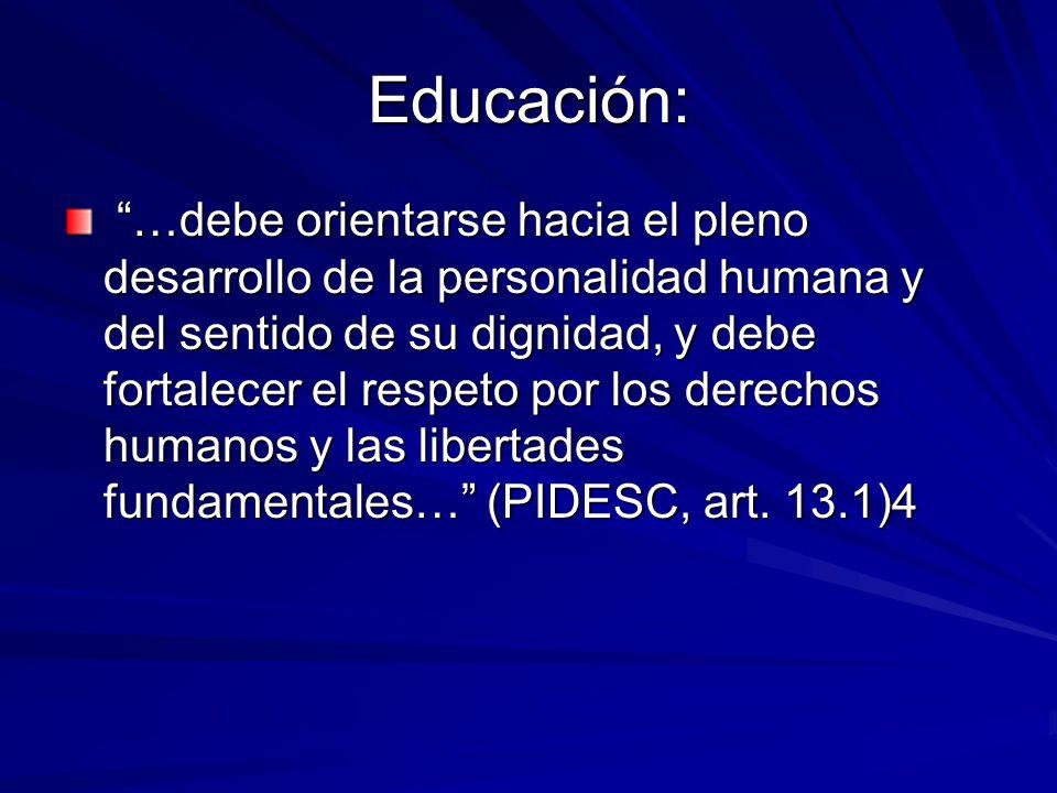 Educación: