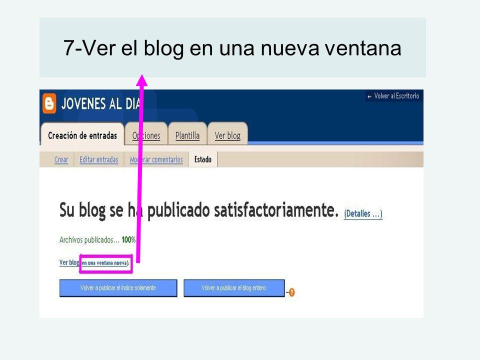 7-Ver el blog en una nueva ventana