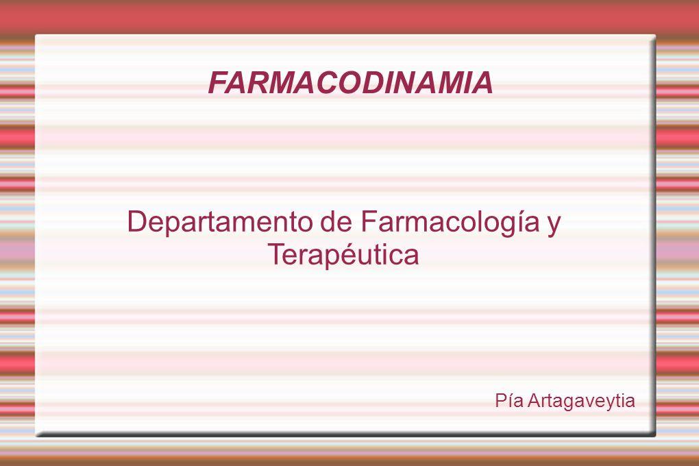 Departamento de Farmacología y Terapéutica