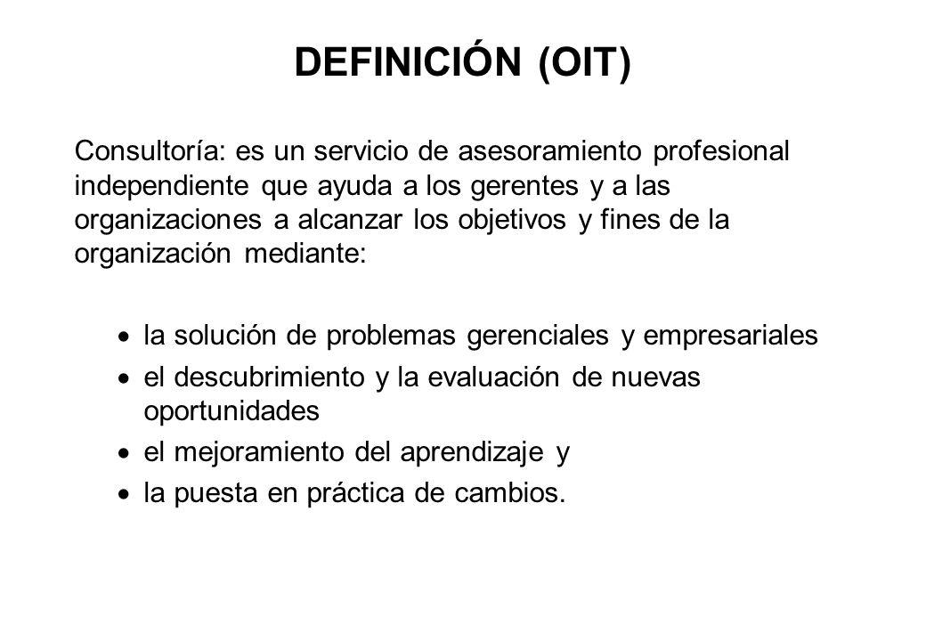 DEFINICIÓN (OIT)