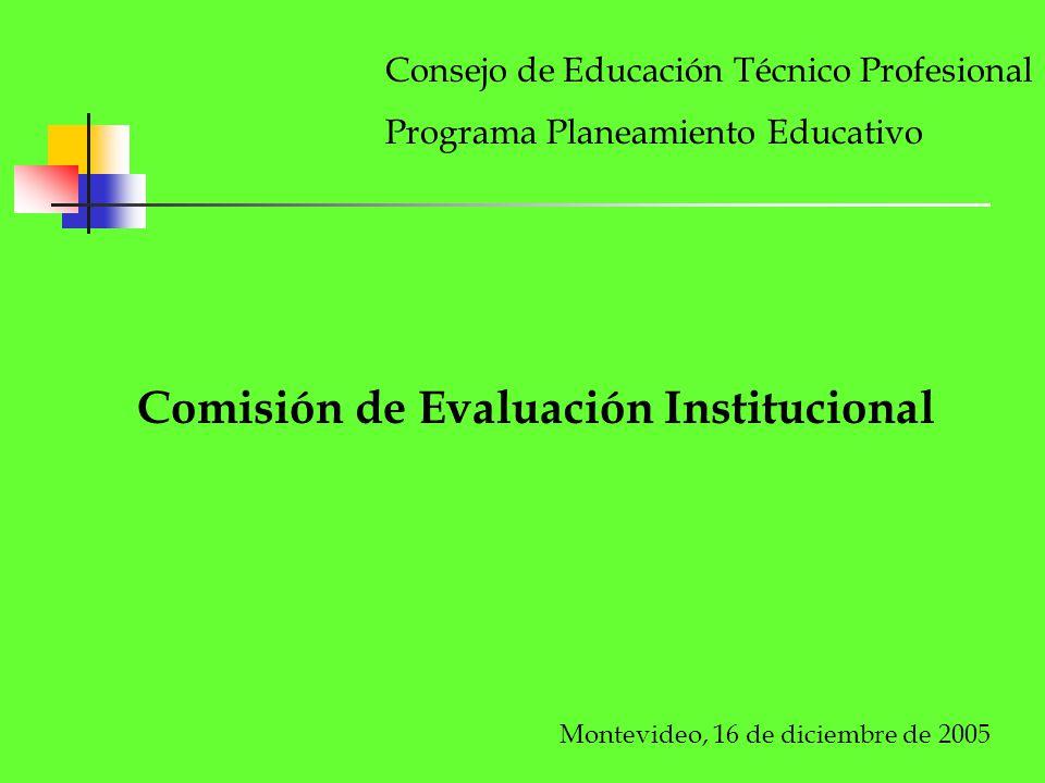 Comisión de Evaluación Institucional
