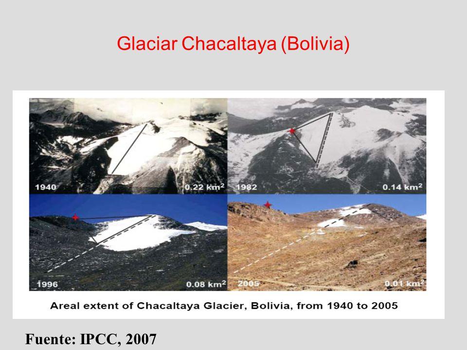 Glaciar Chacaltaya (Bolivia)