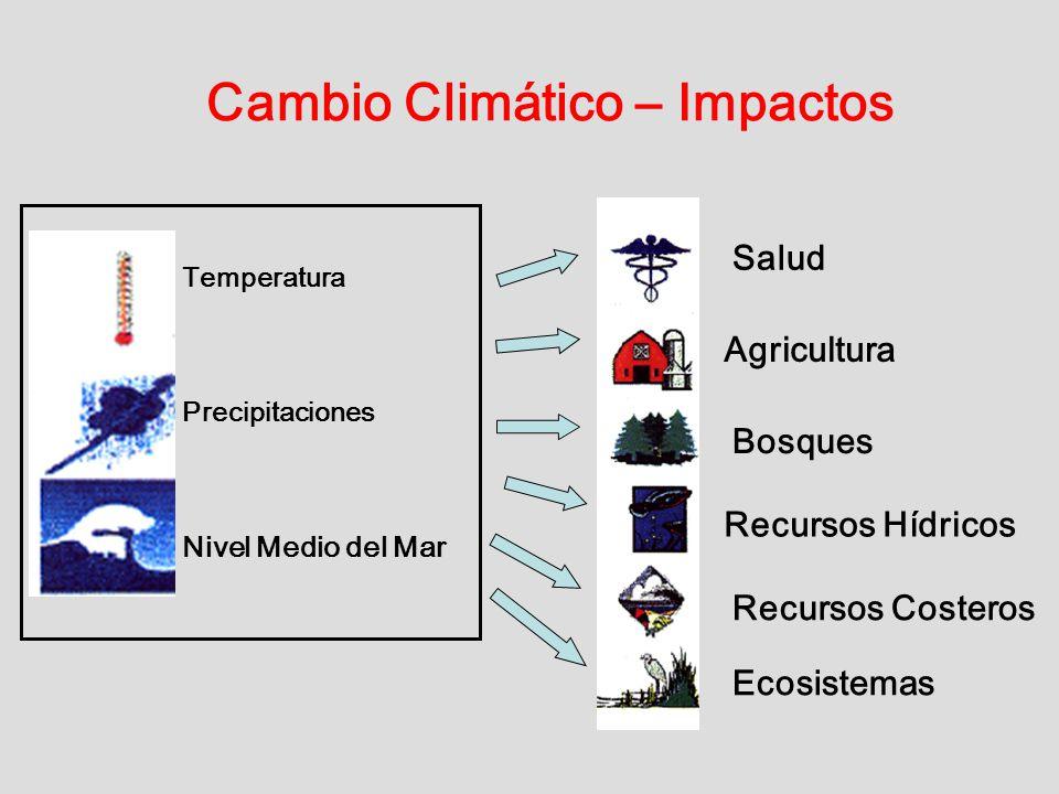 Cambio Climático – Impactos