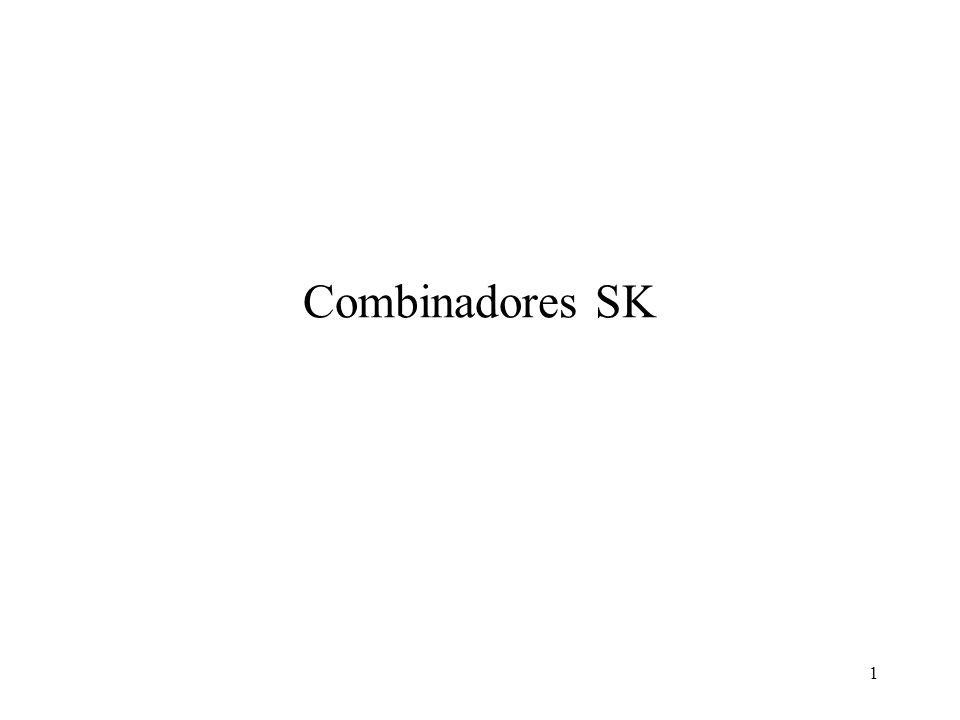 Combinadores SK