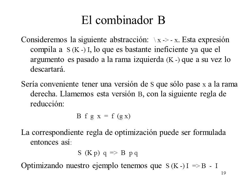 El combinador B