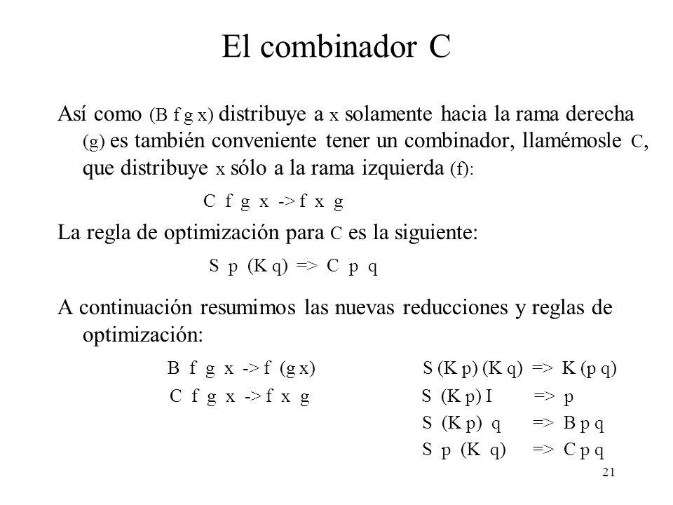 El combinador C