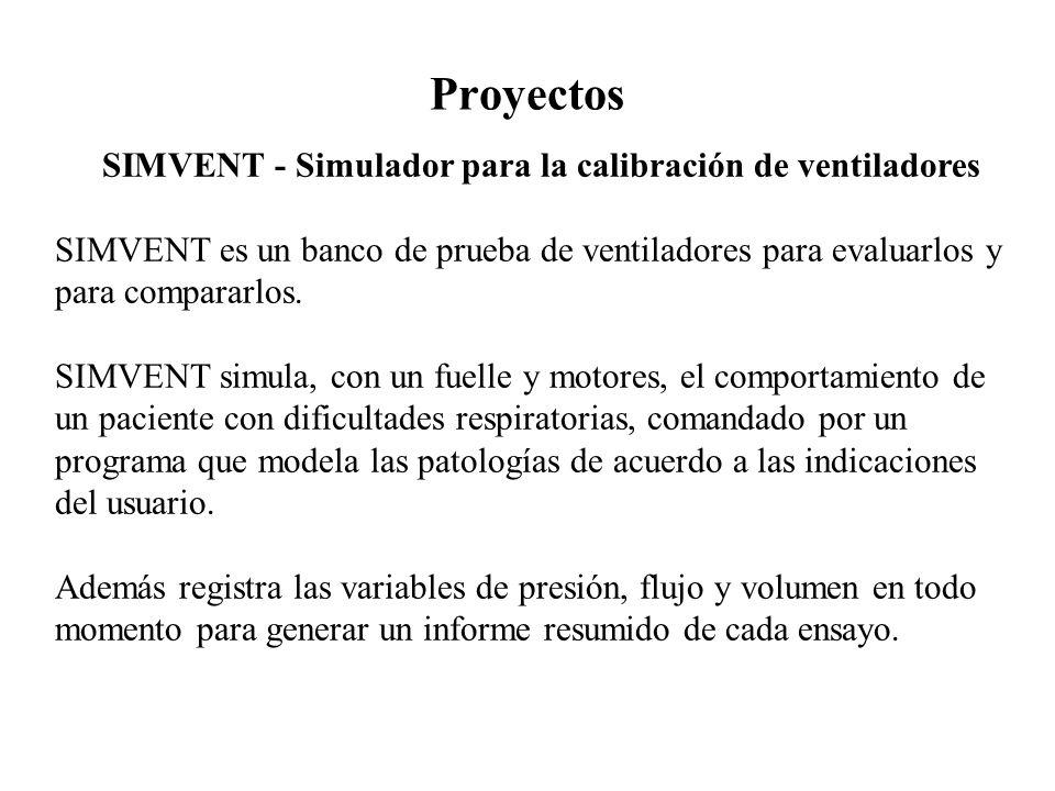 SIMVENT - Simulador para la calibración de ventiladores