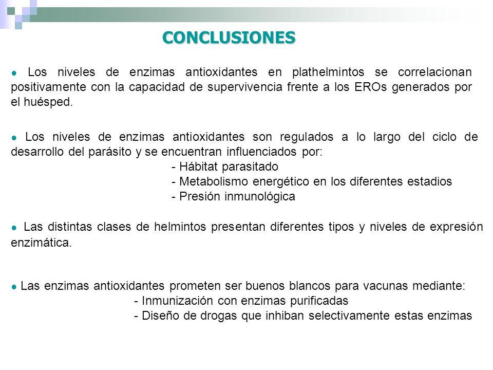 CONCLUSIONES - Hábitat parasitado
