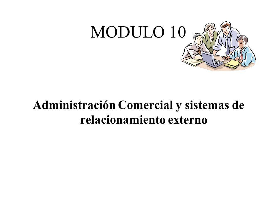 Administración Comercial y sistemas de relacionamiento externo
