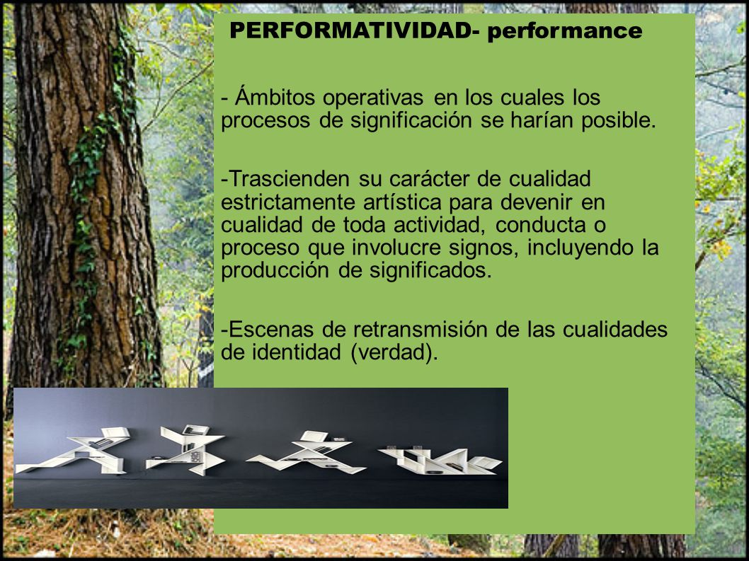 PERFORMATIVIDAD- performance