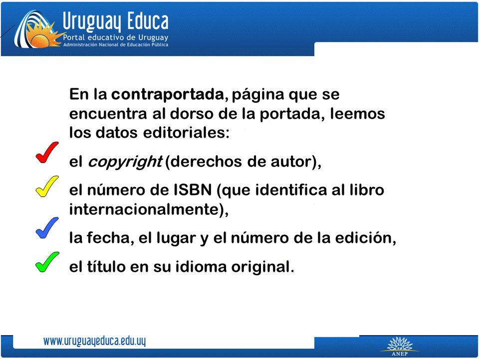 el copyright (derechos de autor),