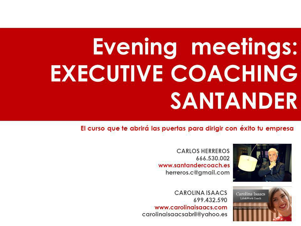 EXECUTIVE COACHING SANTANDER