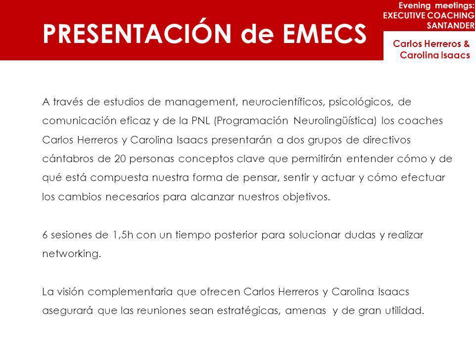 PRESENTACIÓN de EMECS Carlos Herreros & Carolina Isaacs.