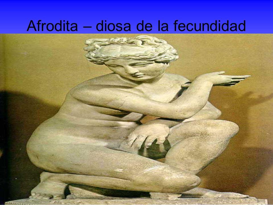 Afrodita – diosa de la fecundidad