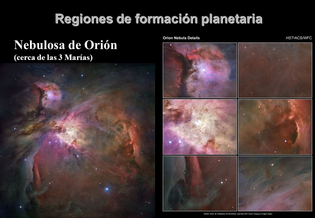 Regiones de formación planetaria