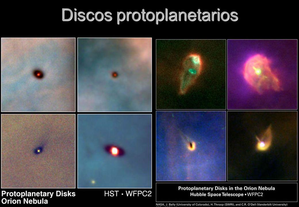 Discos protoplanetarios