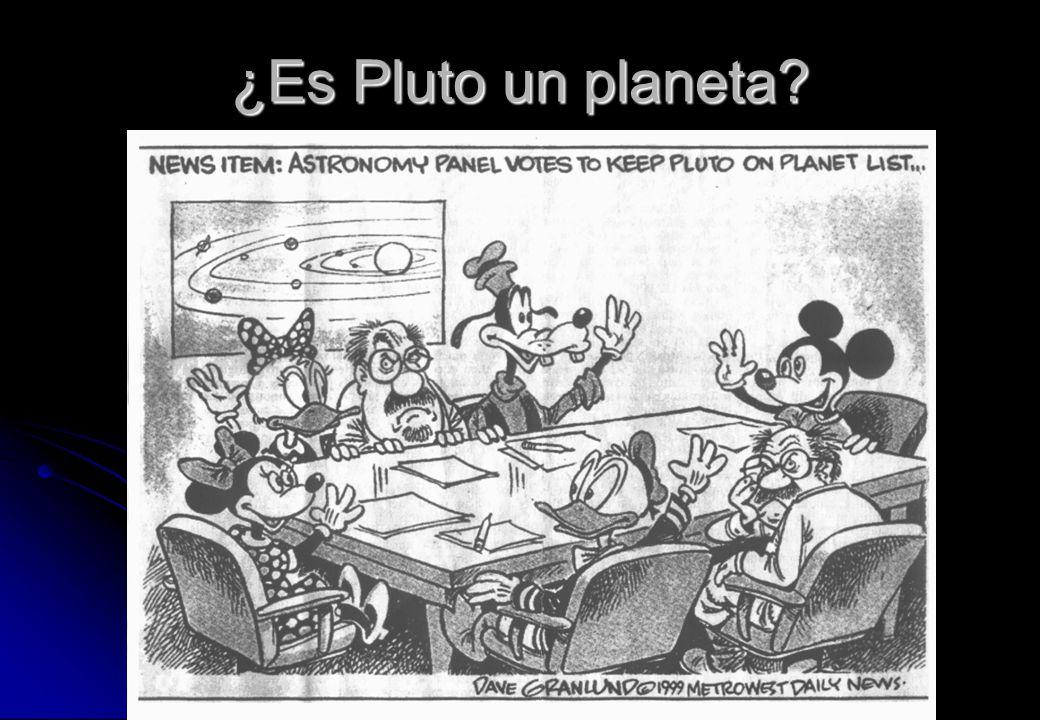 ¿Es Pluto un planeta