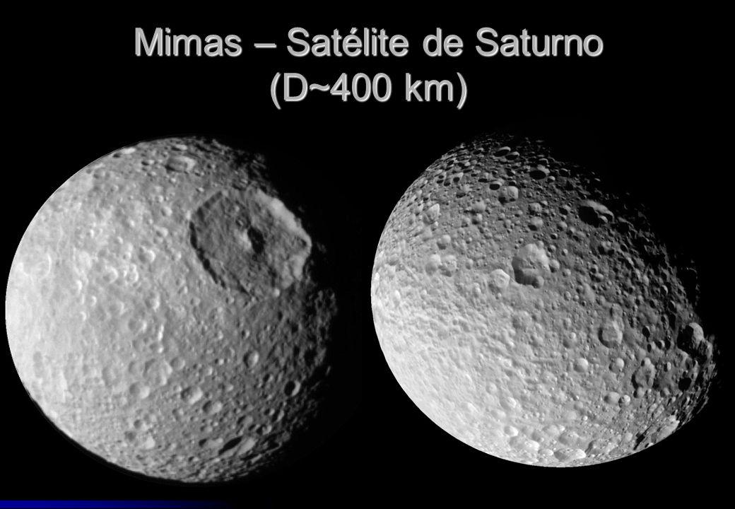 Mimas – Satélite de Saturno (D~400 km)