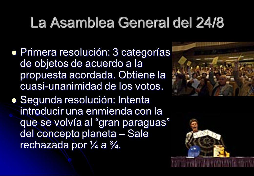 La Asamblea General del 24/8