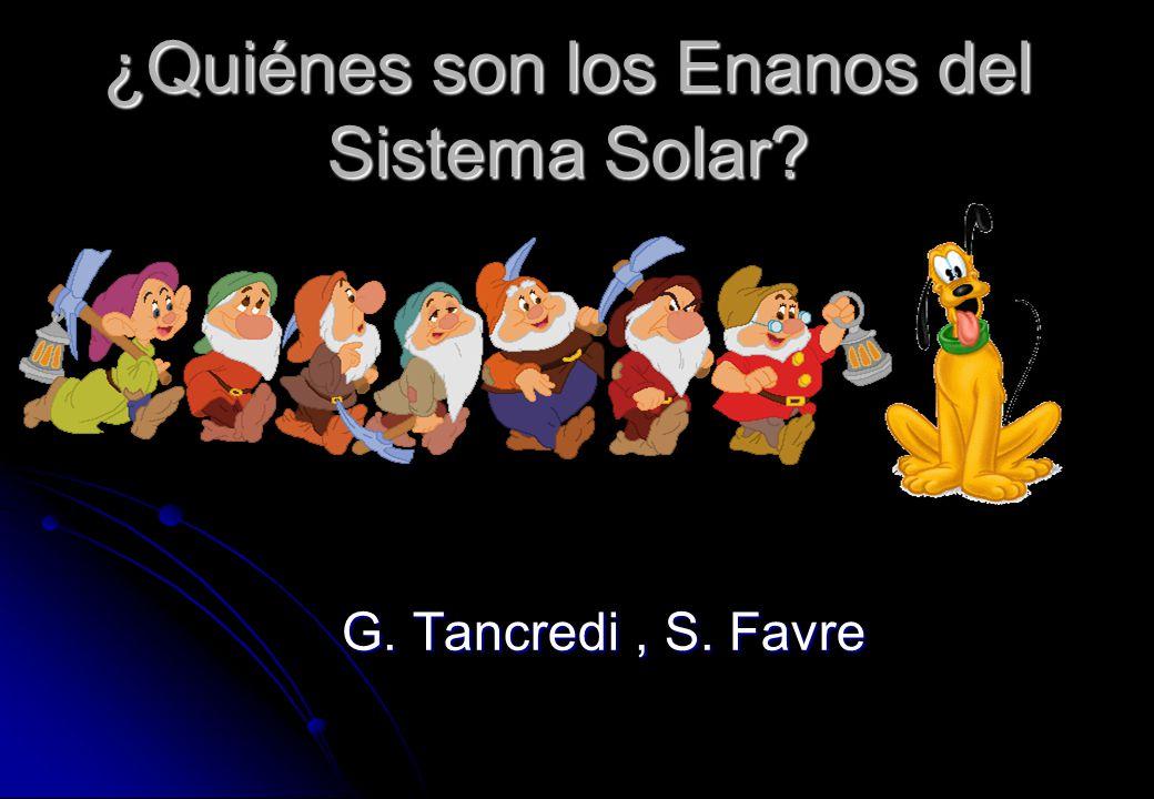 ¿Quiénes son los Enanos del Sistema Solar