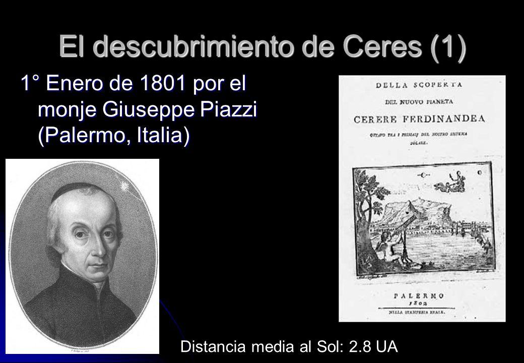 El descubrimiento de Ceres (1)