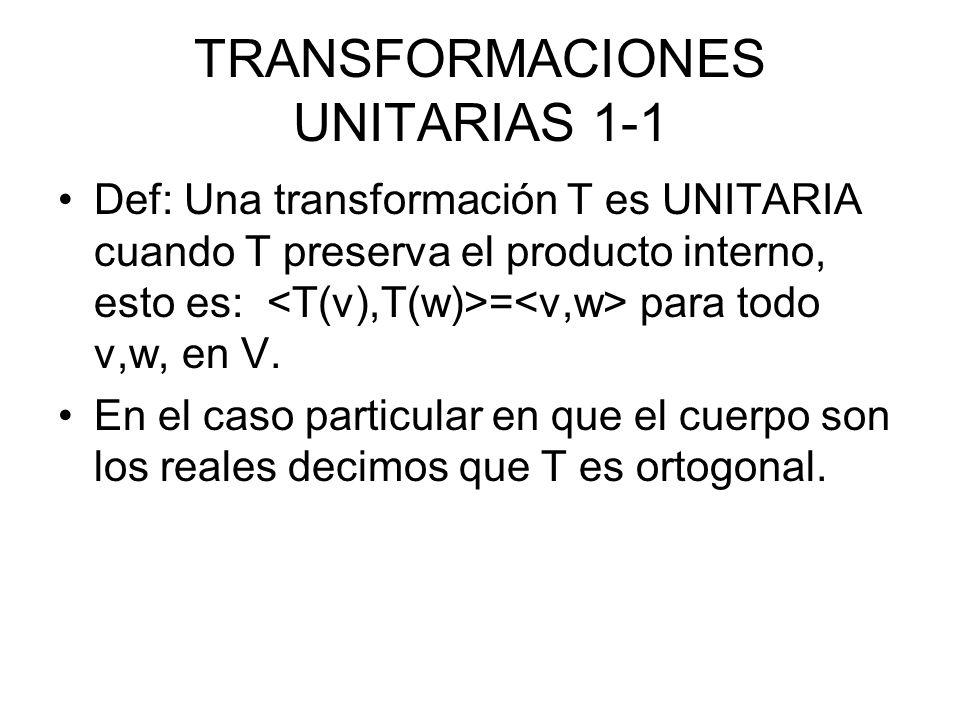 TRANSFORMACIONES UNITARIAS 1-1